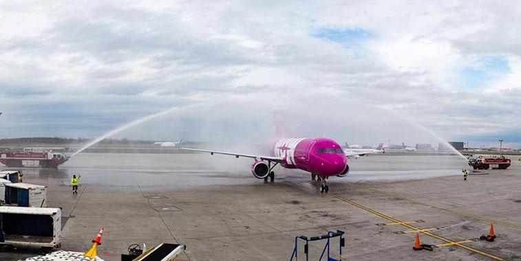 WOW air Reykjavik/Keflavik to Montreal 4 May