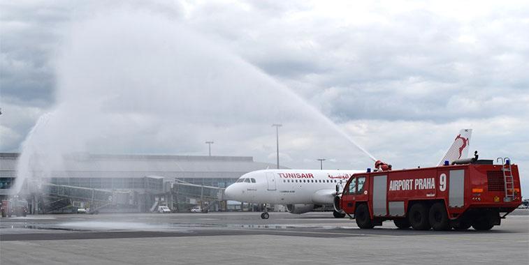 Tunisair Tunis to Prague 17 May
