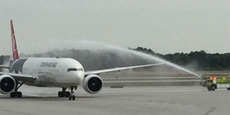 Turkish Airlines Istanbul Atatürk to Atlanta 16 May