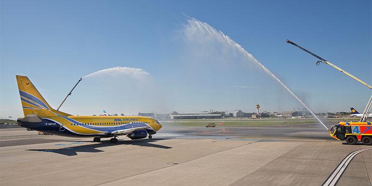 ASL Airlines Lyon to Hamburg 13 May