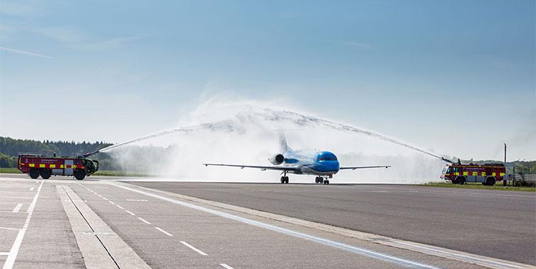 KLM Amsterdam to Southampton 16 May