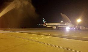 Alitalia links to Larnaca market