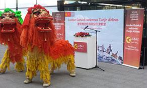 Tianjin Airlines makes UK debut