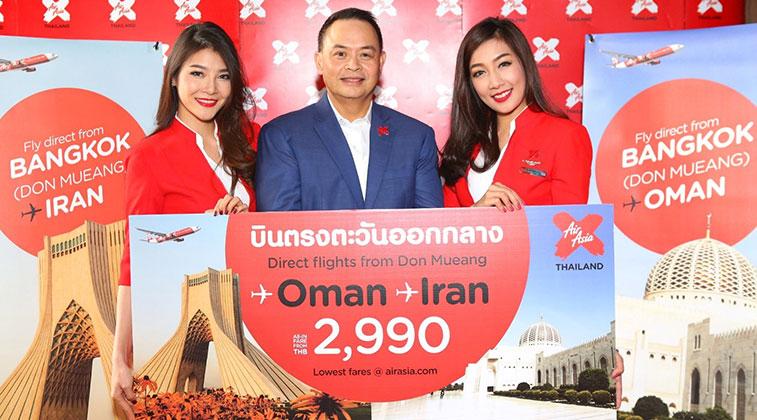 Thai AirAsia X instigates Iran service-1