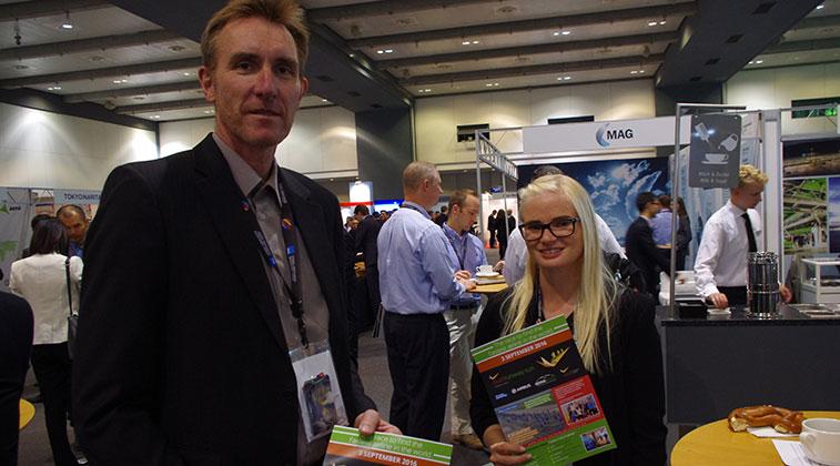 Icelandair's Hannes Árnason, Scheduling Manager, and Eva Berglind Magnúsdóttir, Scheduling Project Manager