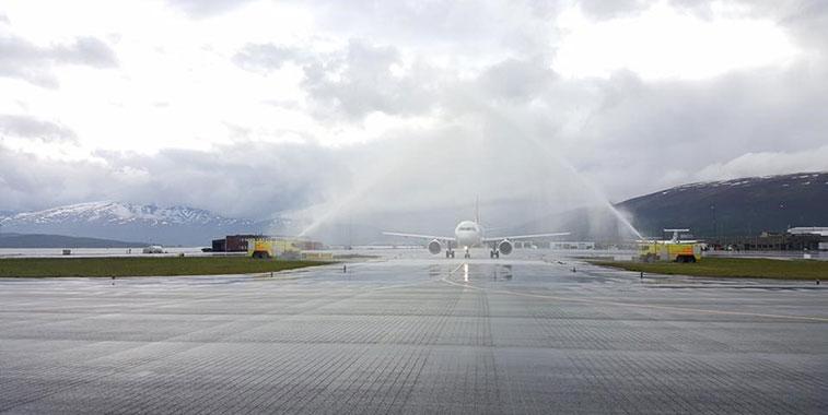 Helvetic Airways Zurich to Tromsø 24 June