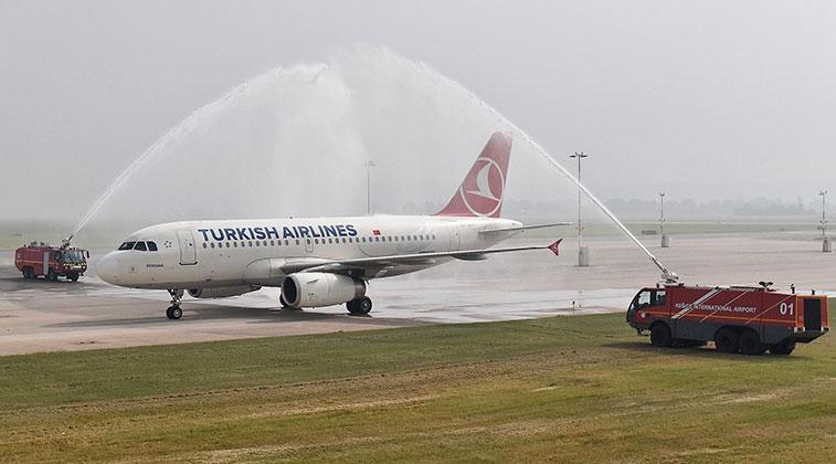 Turkish Airlines Istanbul Atatürk to Košice 16 June