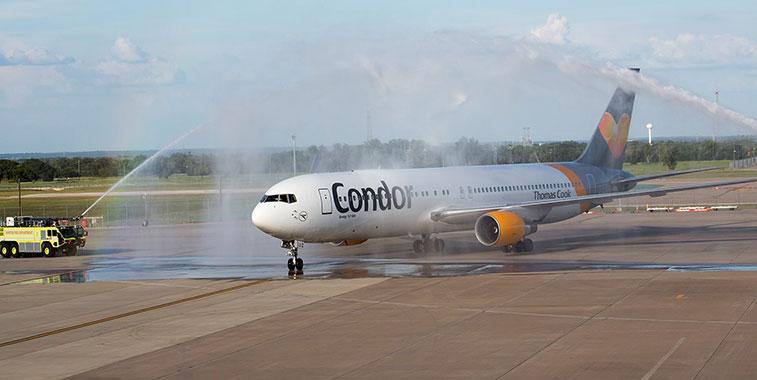 Condor Frankfurt to Austin-Bergstrom 27 June