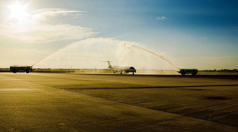 Elite Airways Long Island Macarthur to Melbourne 19 June