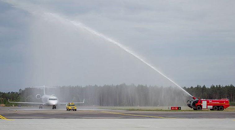 Adria Airways Munich to Olsztyn-Mazury 16 June