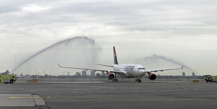 Air Serbia Belgrade to New York JFK 23 June