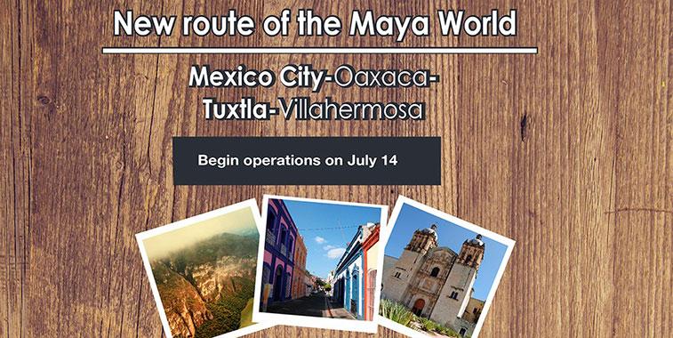 Aeromar starts three new domestic routes in Mexico