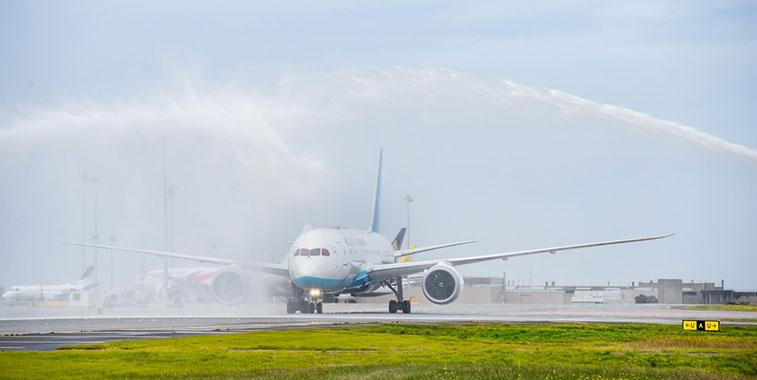 Arch of Triumph win:Xiamen Airlines Xiamen to Melbourne 1 July