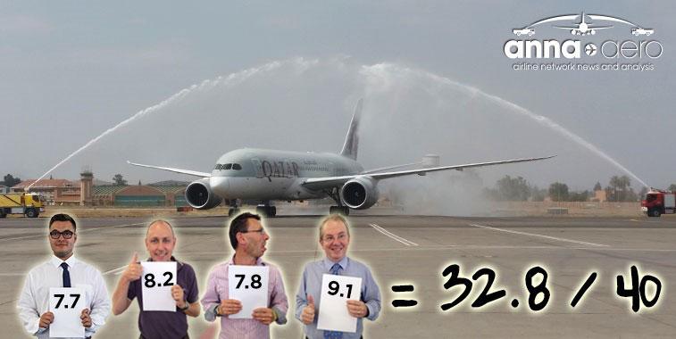 Arch of Triumph win: Qatar Airways Doha to Marrakech 1 July