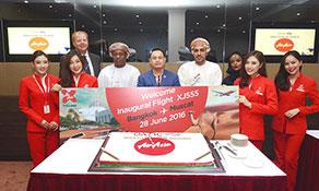 Thai AirAsia X makes it to Muscat