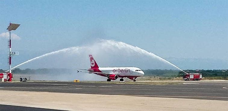 ftwa-airberlin Düsseldorf to Zadar 12 July