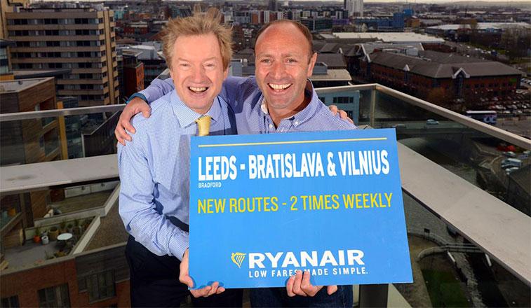 Leeds Bradford to gain links to four European capitals