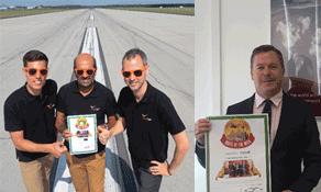 Budapest Airport and BUD Run sponsor Qatar Airways celebrate wins