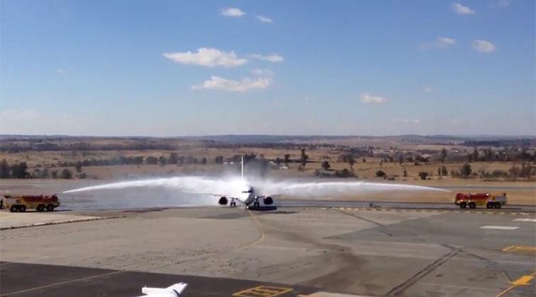FlySafair lands in Lanseria