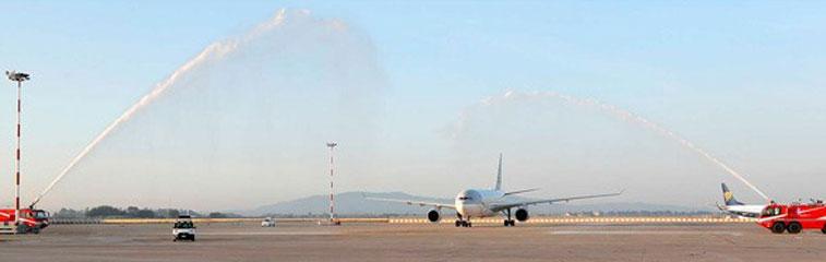 Ftwa:Qatar Airways Doha to Pisa 2 August