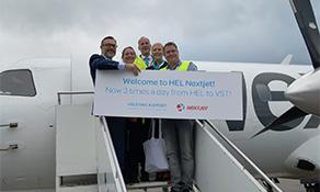 NextJet now serves Helsinki