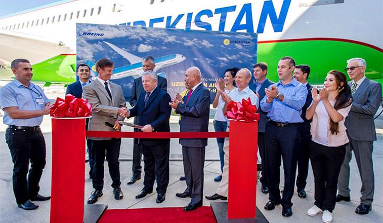 Uzbekistan Airways welcomes its first 787