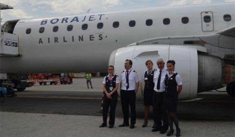 Borajet Airlines begins Trieste connection