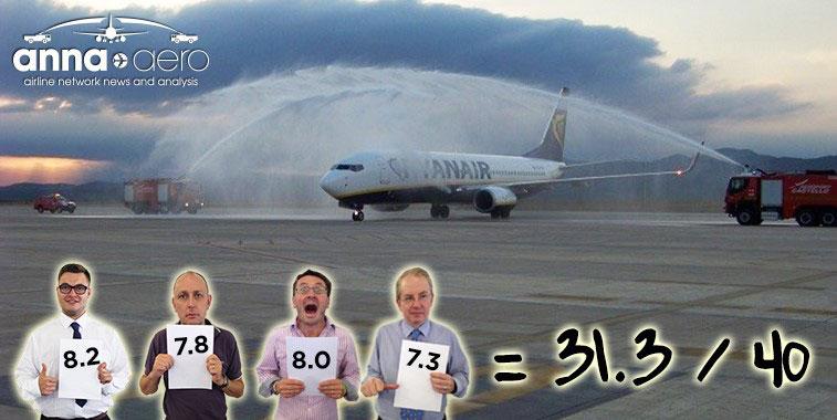 FTWA-Ryanair Sofia to Castellon 9 September