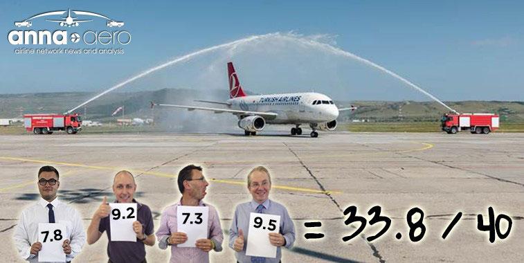 FTWA-Turkish Airlines Istanbul Atatürk to Cluj-Napoca 1 September