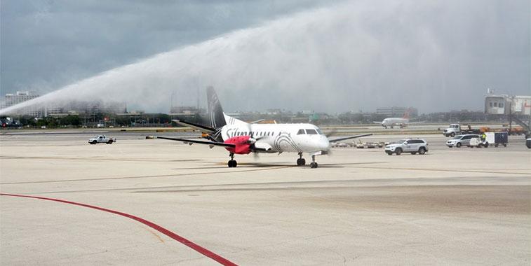Silver Airways FTWA-Miami to Bimini 1 September