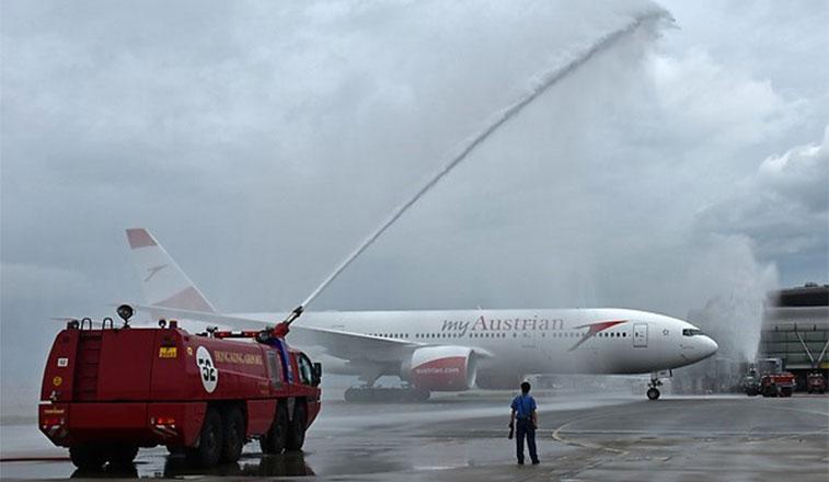 FTWA-Austrian Airlines Vienna to Hong Kong 5 September