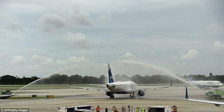 FTWA-JetBlue Airways Fort Lauderdale to Santa Clara 31 August