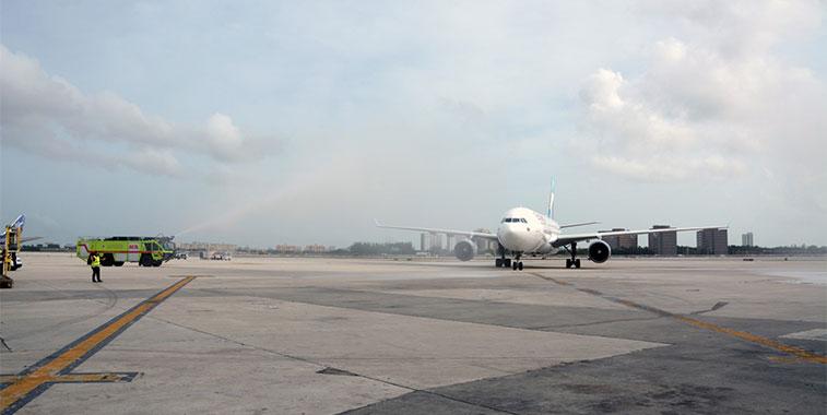 FTWA-Eurowings Cologne Bonn to Miami 1 September