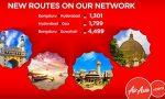 AirAsia India starts three new domestic routes