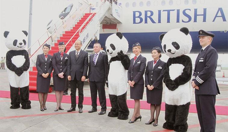 British Airways drops Chengdu service after three years
