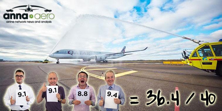ftwa-Qatar Airways Doha to Helsinki 10 October 2016