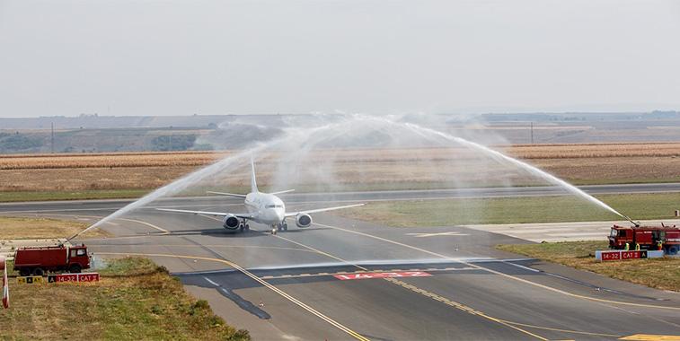 Blue Air Timisoara to Iasi 1 October