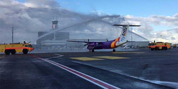 Flybe Birmingham to Rotterdam 1 October