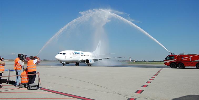 Blue Air Turin to Pescara 3 October