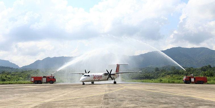 FTWA-SpiceJet Kolkata to Aizawl 4 October