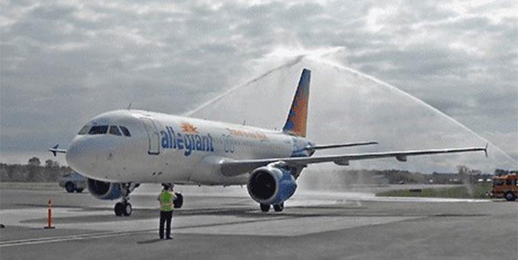 Allegiant Air Orlando Sanford to Ogdensburg 5 October