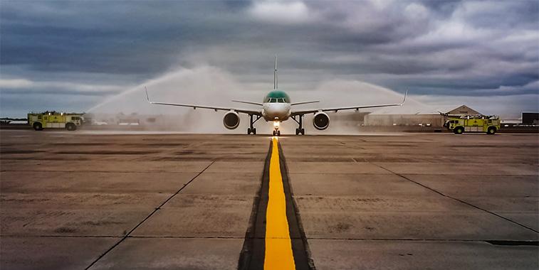 Aer Lingus Dublin to Hartford 28 September