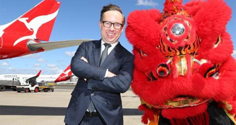 Qantas is averaging 30% passenger share in its top international markets