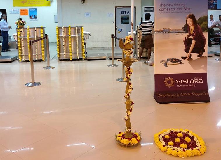 Vistara makes Port Blair its 18th Indian airport