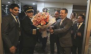 Mahan Air makes Delhi debut from Mashhad