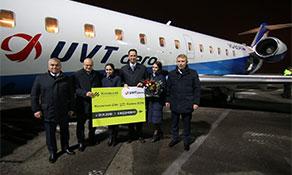 UVT Aero links Kazan to Zhukovsky