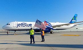 JetBlue Airways reaches 100 destinations with Havana launch