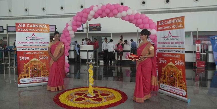 Air Carnival takes off for Tirupati