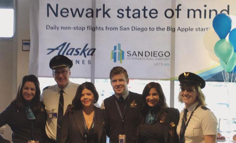 Alaska Airlines Newark San Diego