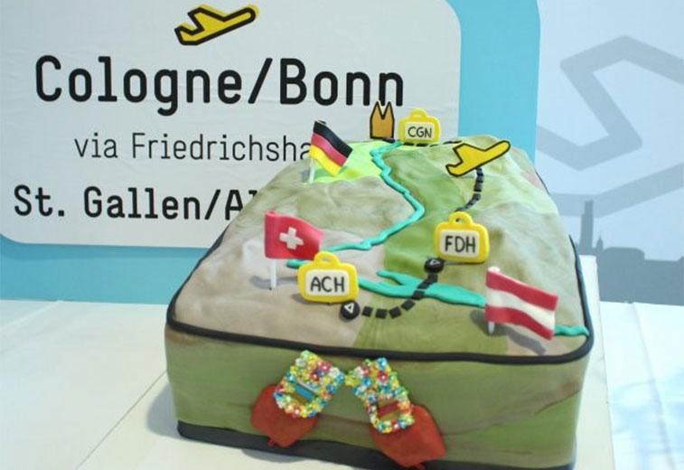 Cake 10 – People's Viennaline Friedrichshafen to Cologne Bonn